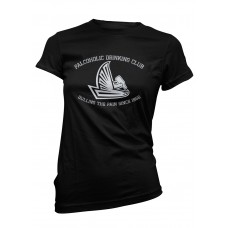 Falcoholic Drinking Club Ladies T-Shirt