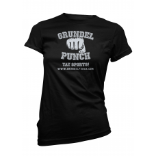 Grundel Punch Logo Ladies T-Shirt